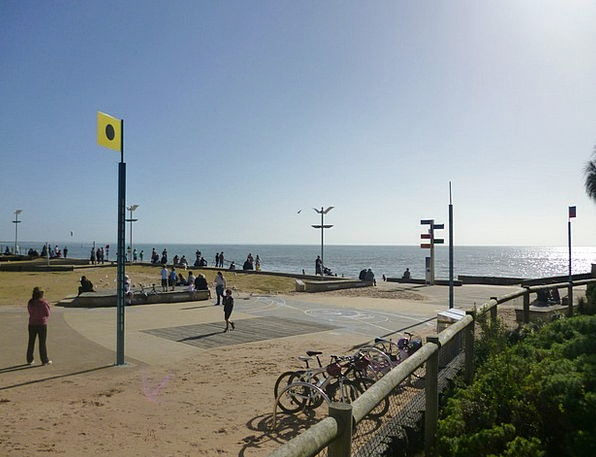 Frankston Vacation Seashore Travel Melbourne Beach