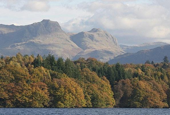 Lake District Landscapes Nature Cumbria Langdale P