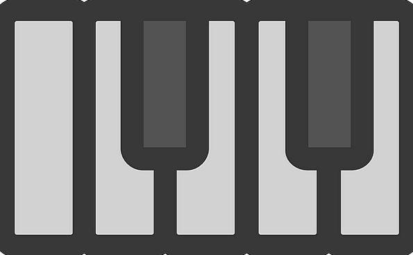 Piano Solutions Notes Minutes Keys Monochrome Neut