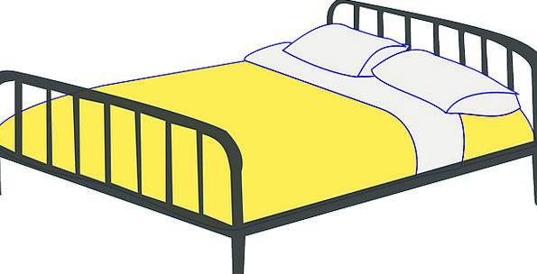 Bed Divan Mooring Double Bed Berth Free Vector Gra