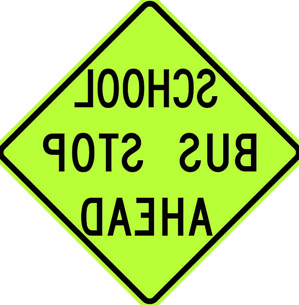 Signs Ciphers Traffic Transportation Transport Con