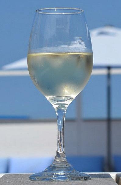 Wine Mauve Break Glass Cut-glass Holiday Blue Sky