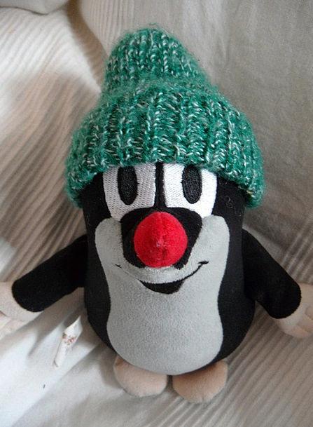 Pauli Spy Krtek Mole Child Cartoon Character Cuddl