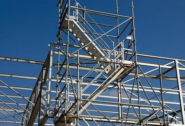 Echaffaudage Tube Pipe Construction Site Steel Str