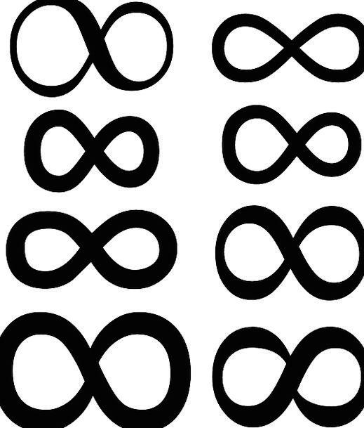 Infinity Eternity Ciphers Math Symbols Mathematics