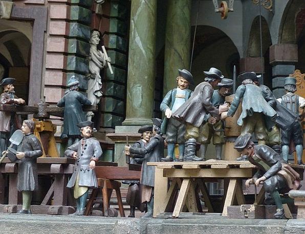Mechanical Theater Figures Statistics Schloss Hell