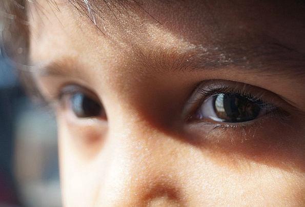 Eyes Judgments Lassie Eyelashes Girl Face Expressi