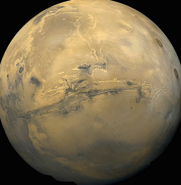 Mars Defaces Planet Earth Red Planet Nasa Starry S
