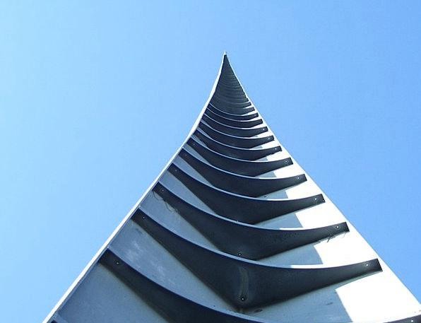 Spire Tip Buildings Building Architecture Sky Blue
