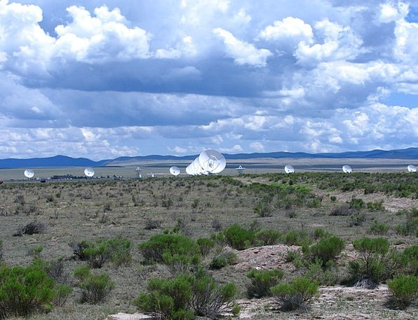 Antenna Feeler Landscapes Nature Seti Very Large A