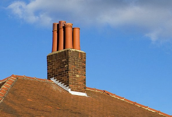Chimney Funnel Buildings Architecture Part Share R