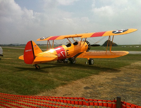 Plane Flat Traffic Transportation Airplane Biplane
