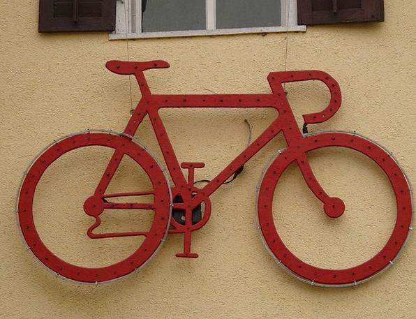 Wheel Helm Motorbike Red Bloodshot Bike Hauswand A