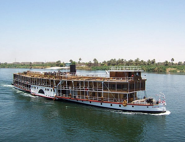 Nile Landscapes Nature River Stream Egypt Famous W