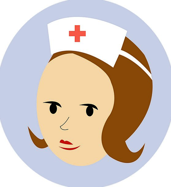 Nurse Harbor Medical Lid Health Aid Assistance Cap