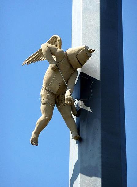Peter Lenk Monuments Statue Places Friedrichshafen