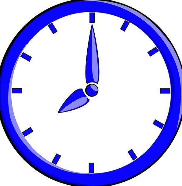 Clock Timepiece Wall Clock Time Piece Hands Pointe