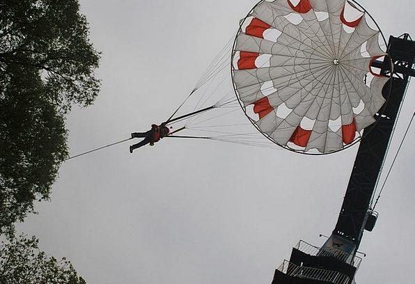 Parachute Free-fall Dangerous Air Midair Extreme A