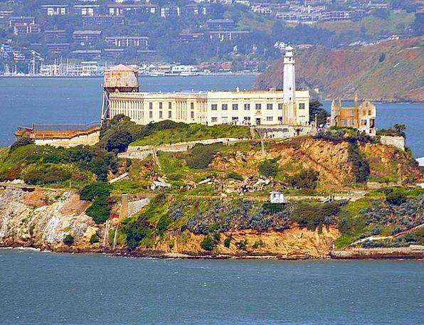 Alcatraz Buildings Custodial Architecture Island I
