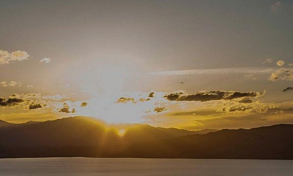 Mountains Crags Vacation Sundown Travel Utah Sunse