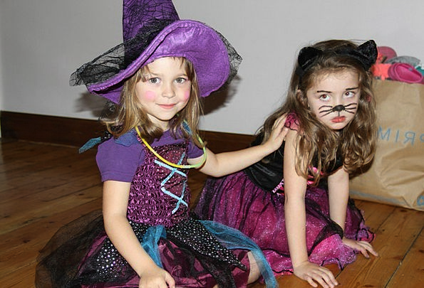 Halloween Clothing Face Paint Costume Witch Happy