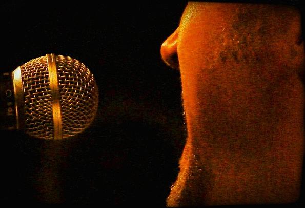Singer Vocalist Gentleman Microphone Man Musician