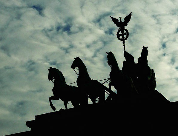 Berlin Monuments Milestone Places Sky Blue Landmar