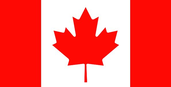 Flag Standard Canadian Canada Proud Maple Leaf Pat