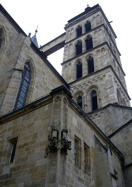 Steeple Tower Saint Dani City Church Esslingen