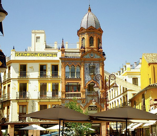 Spain Seville Andalusia Baroque Ornate