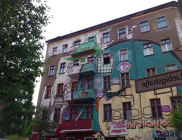 Berlin Buildings Architecture Friedrichshain Kreuz