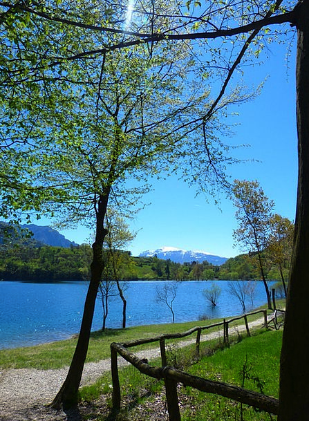 Tenno Lake Landscapes Nature Italy Lago Di Tenno T