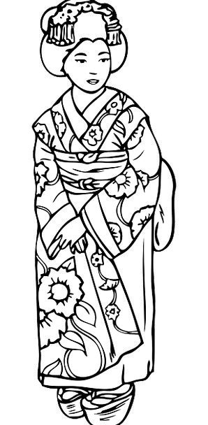 Geisha Fashion Beauty Woman Lady Asian Free Vector