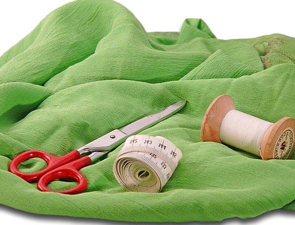Tailor Adapt Yarn A Pair Of Scissors Thread Garmen