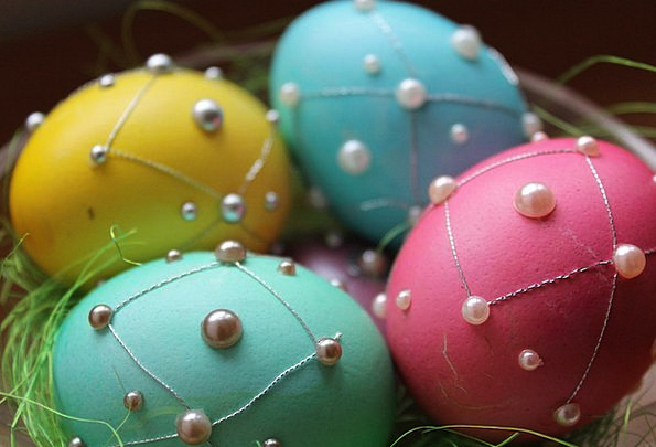 Eggs Spawns Beautification Easter Decoration