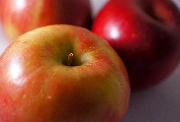 Apples Drink Bloodshot Food Fruit Ovary Red Diet H