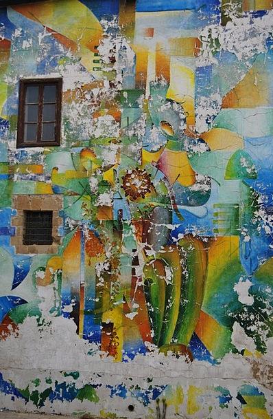 Color Hue Partition Paint Dye Wall