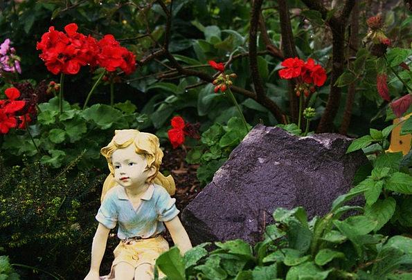 Garden Plot Pixie Summer Straw-hat Fairy Fantasy I