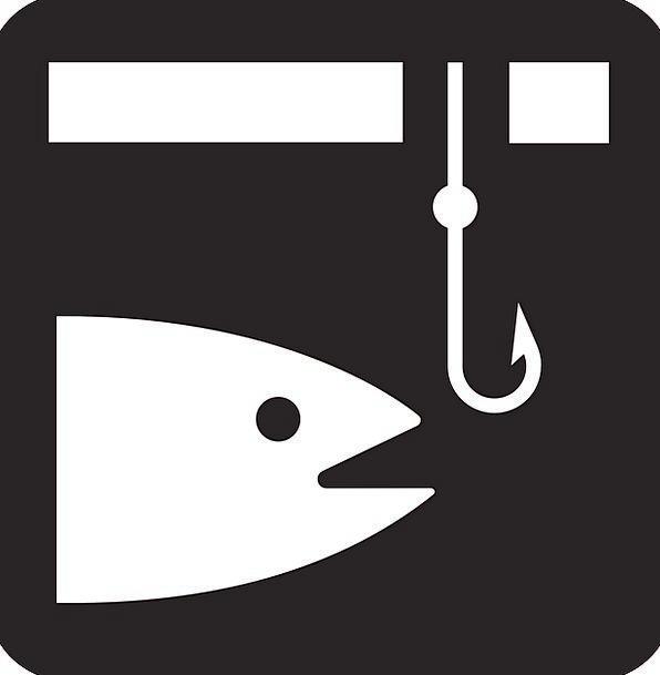 Fishing Fishhook Angling Fish Hook Icon Fishing-Ho