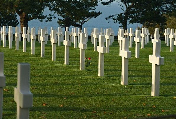 France Omaha Beach Normandy Military Cemetery