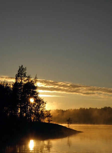 Sun Landscapes Nature Savonlinna Finnish Archipela
