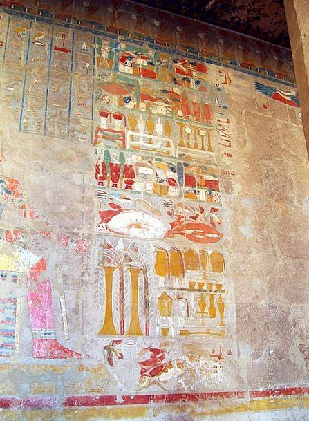 ... , Symbols, Temple, Shrine, Hieroglyphics, Hatshepsut, Tomb Painting