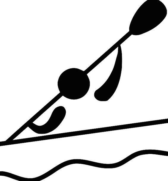 Kayak Splashing Kayaking Paddling Olympics River S