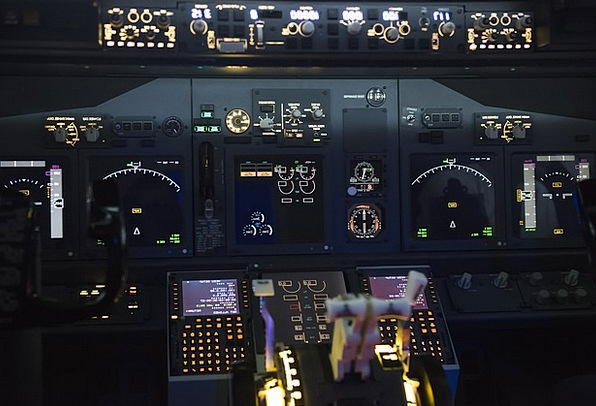 Airplane Traffic Flat Transportation Cockpit Arena