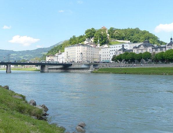 Salzburg Landscapes Nature Salzach Neustadt Mozart