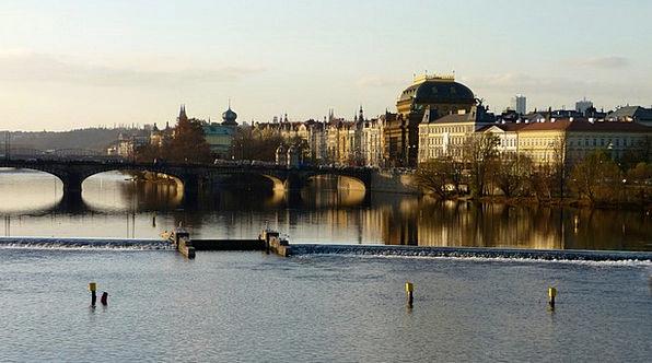 Prague Vltava Czech Republic