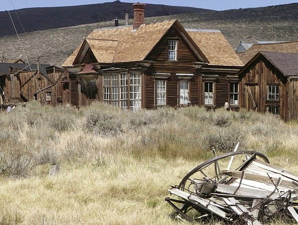 Bodie Usa California Ghost Town Gold Mining Mining