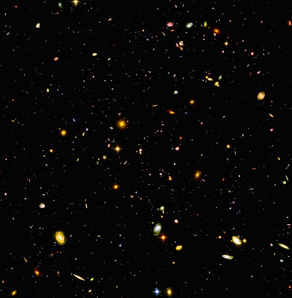 Hubble Ultra Deep Field Deep Field Hudf Space Look