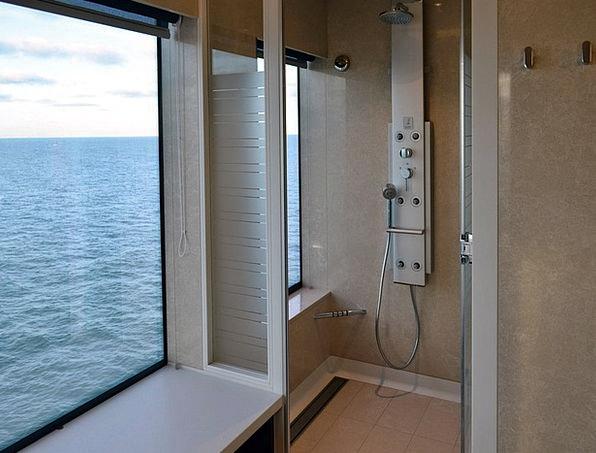 Wellness Vacation Bath Travel Cruise Ship Shower O