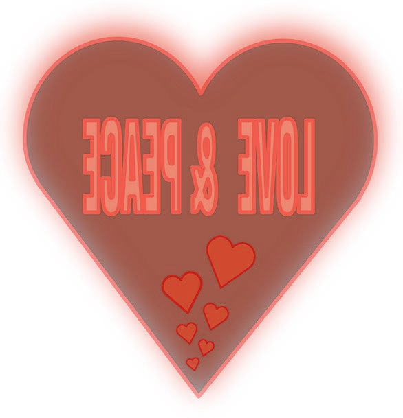Love Darling Concord Heart Emotion Peace Together